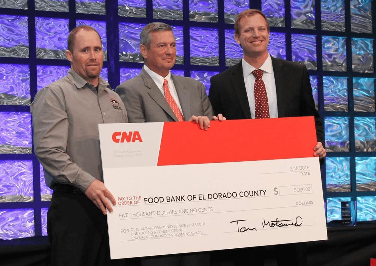 Straightline Construction CNA Award Presentation