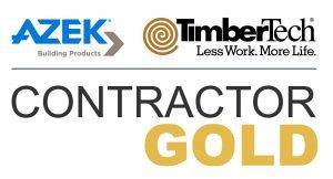 TimberTech Gold Contractor Deck Installer New Deck