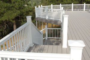 TimberTech Decking from Straight Line Construction Deck Installation