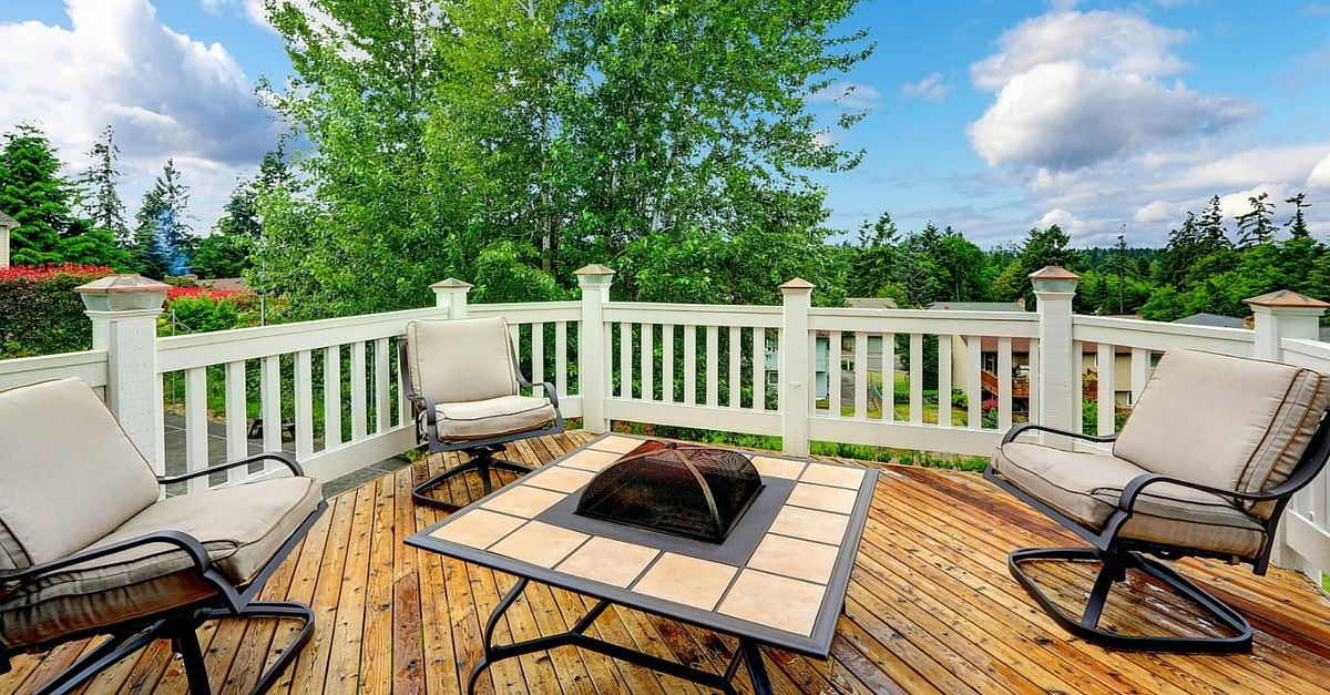 here are a few reasons why you may wish to invest in a new deck