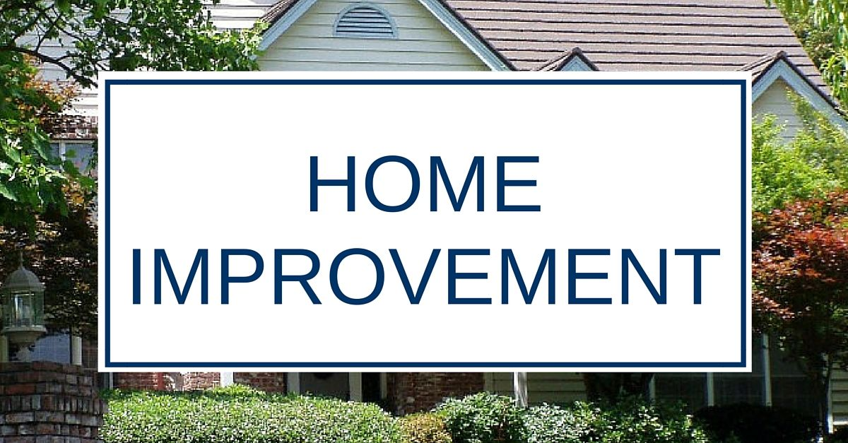 home improvement projects from roof repair and roof replacement to others.