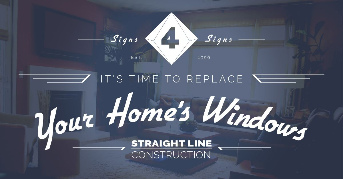 4 Signs It's Time to Replace Your Home's Windows