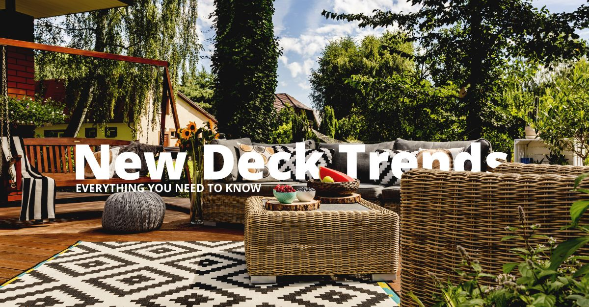 Straightline Construction New Deck trends