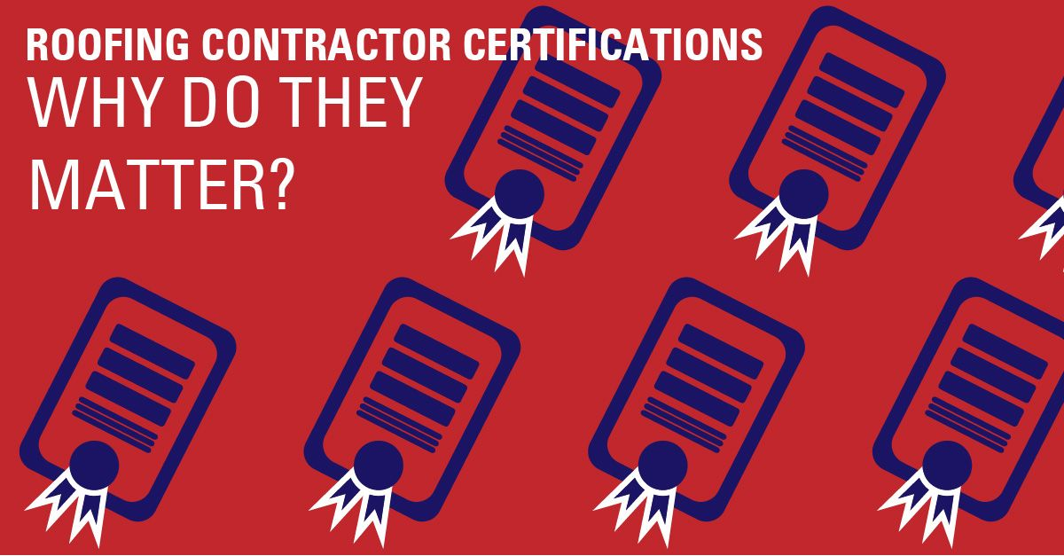 Why Roofing Certifications Matter at Straight Line Construction