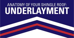 anatomy of your shingle underlayment
