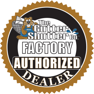 GutterShutter Factory Authorized Dealer Seal