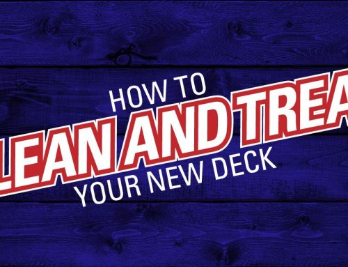 How To Clean And Treat Your New Deck